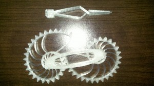 Gears and Tweezers