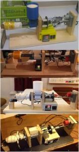Filastruder prototypes
