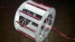 assembled rotor