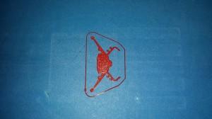 Logo printed